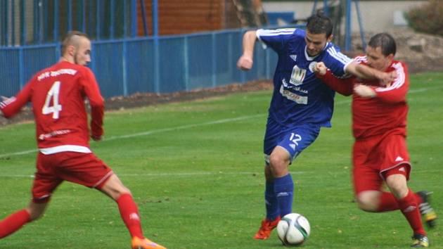 Z utkání FK Kolín - Trutnov (3:1).