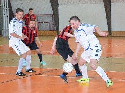 Z utkání SKP Kolín - Čechie Slaný (6:6).