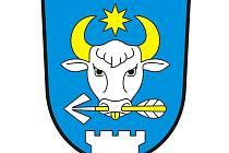 Znak obce Radovesnice I vychází z erbů někdejších majitelů tvrze a zámku, tvrdí heraldik