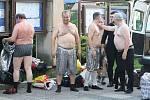 Rasputin roztančil náměstí v Novém Boru