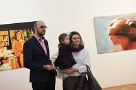 Od třetího lednového úterka se změnila i výstava vGalerii Města Kolína, kde své převážně velkoplošné obrazy vystavuje letos šedesátiletý Pavel Kříž,  používající umělecký pseudonym Pavel Kryz.