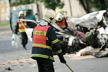 Smrtelná nehoda v Jaselské ulici v Kolíně - 4. srpna