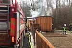Půlmilionovou škodu si těsně před vánočními svátky vyžádal požár dřevostavby na Kolínsku.