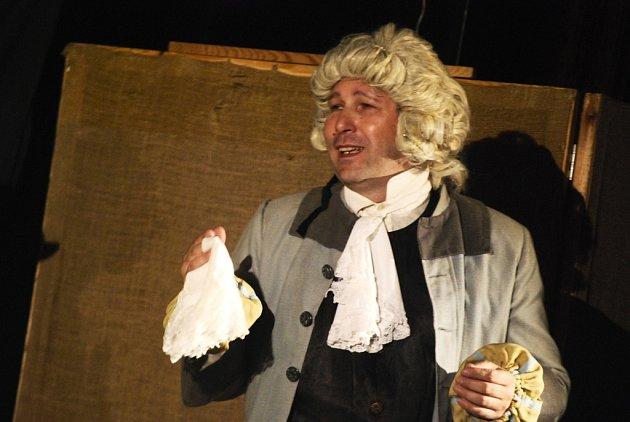 Z divadelního představení souboru Mrsťa Prsťa Mrtvá nevěsta