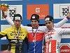Nejlepší trojice na mistrovství republiky. Zleva Jan Nesvadba, Michael Boroš a Adam Ťoupalík.