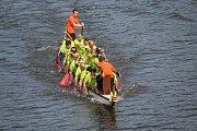Dračí lodě zavítaly do Kolína již po jedenácté