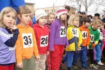 Dětské kategorie na 30. ročníku populárního běhu Pečecká desítka v Pečkách.