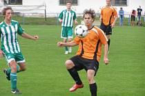Z utkání staršího dorostu FK Kolín - Rapid Liberec (2:2).