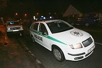 Policie. Týnec nad Labem.