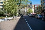 Z rekonstrukce Klenovecké ulice v Kolíně v dubnu roku 2020.