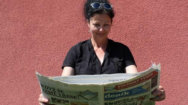 Alice Vlková, ambasadorka Kolínského deníku