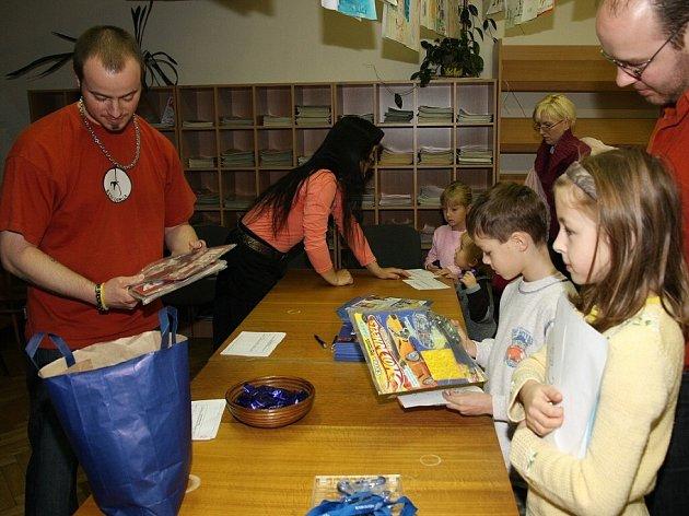 Den Dětské knihy v Kolíně. 29. 11. 2008