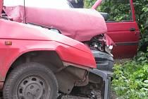 U Sandberku se srazila dvě vozidla.