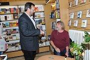 Petr Šabach podepisoval v Kolíně novou knihu