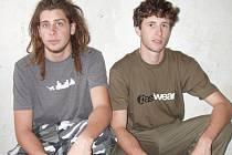 Adam Hruška alias Wenca (vlevo) a Dan Kvasnička alias Danoo.