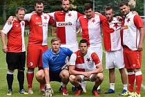 Vítězem turnaje v malé kopané v Radimi se stal tým SK Slavia Praha z Libodřic