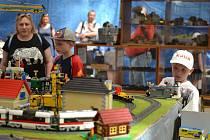 Tradiční výstava modelových kolejišť opět zaujala.