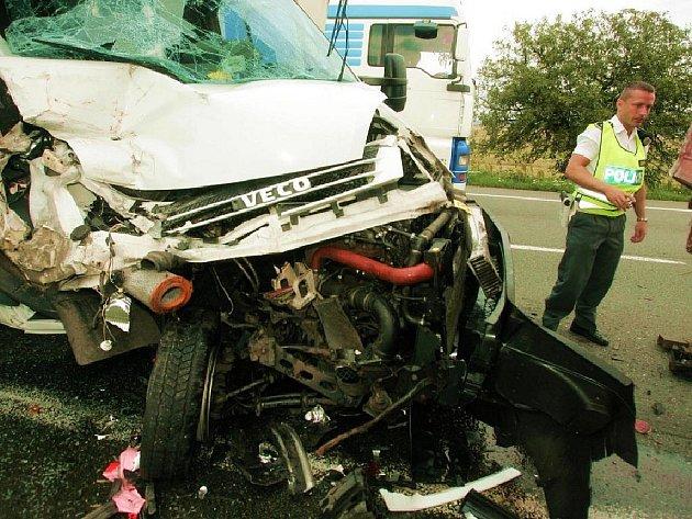 Dopravní nehoda na Novém Městě
