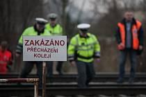 Zákaz přecházení kolejí - ilustrační foto