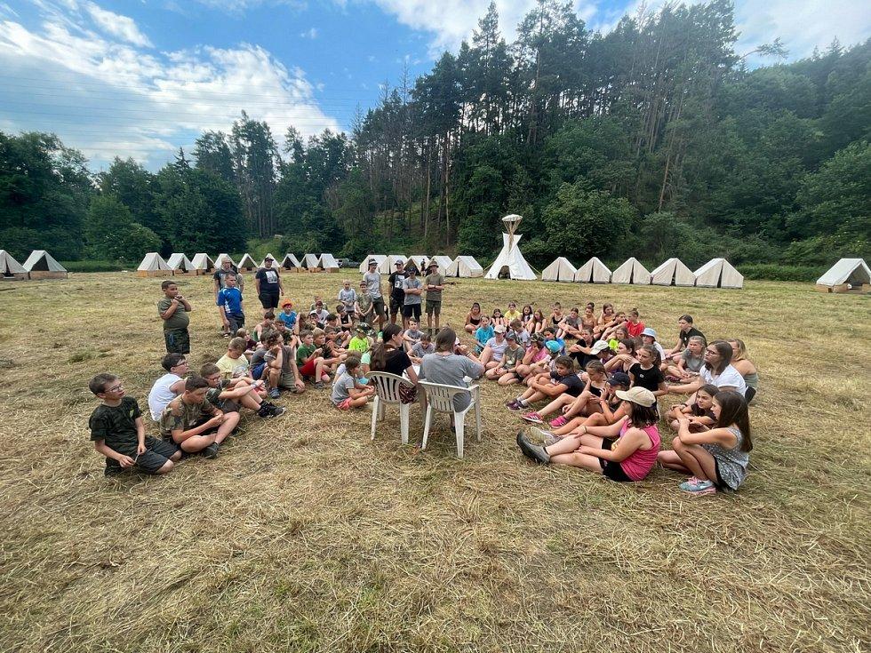 Letní tábor Junáku Červené Pečky.