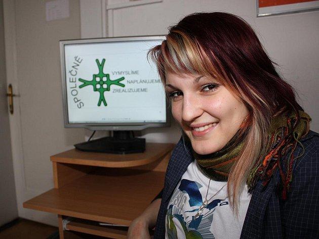 Studentka Dominika Šindelářová