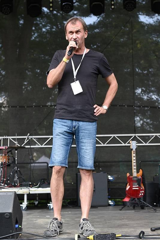 Z hudebního festivalu Brod 1995 v sobotu 21. srpna 2021.