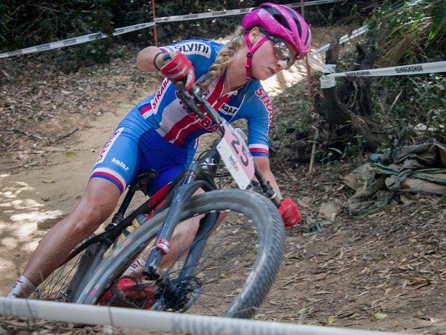 Jana Czeczinkarová dojela na mistrovství světa v Austrálii osmá.