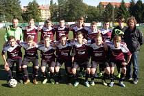Mladí fotbalisté Kolína (U17) skončili po první polovině na dvanáctém místě.