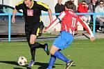 Z utkání Tuchoraz - Liblice (1:0).