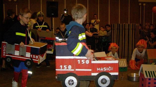 Černokostelečtí hasiči uspořádali karneval
