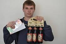 Filip Nekola vyhrál karton piv značky Rohozec, poukázku do pizzerie Týna v hodnotě 200,-Kč a poukázku na cvičení SlimBelly.