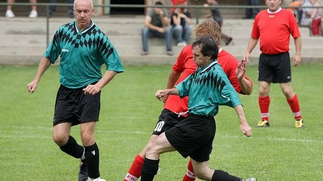 Z fotbalového turnaje gard, který se konal na hřišti v Třebovli.