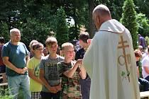 Mše při příležitosti Svatoprokopské pouti v Chotouni, rodišti sv. Prokopa