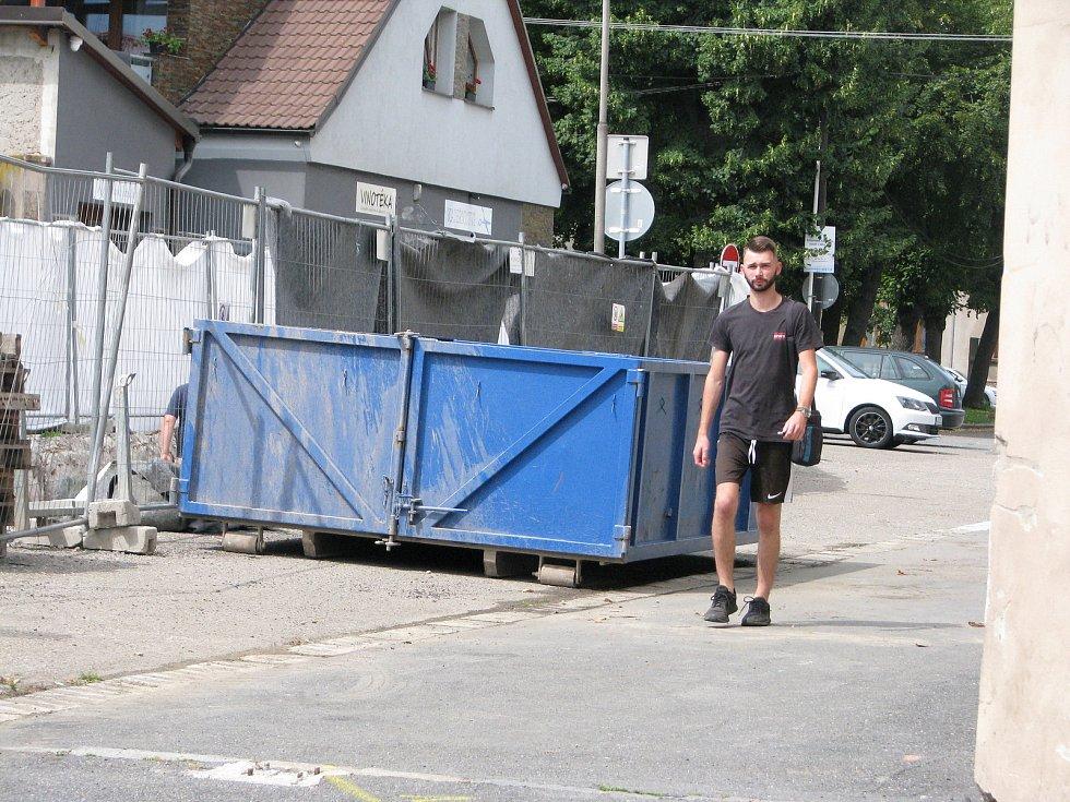 Rekonstrukce podchodu pod Jaselskou ulicí, červenec 2021