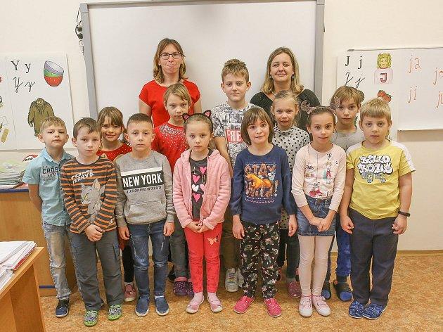 Základní škola Miloše Šolleho, třída 1.C.