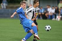 Z divizního utkání FK Kolín - Hradec Králové B (4:0).
