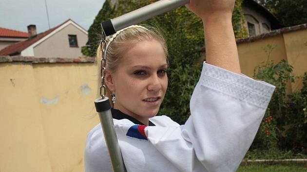 Taekwondistka Jitka Poláčková