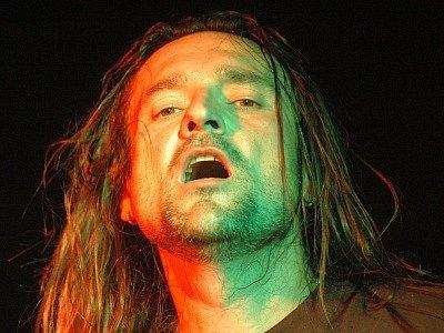 Zpěvák skupiny Sorry Petr Jeřábek.