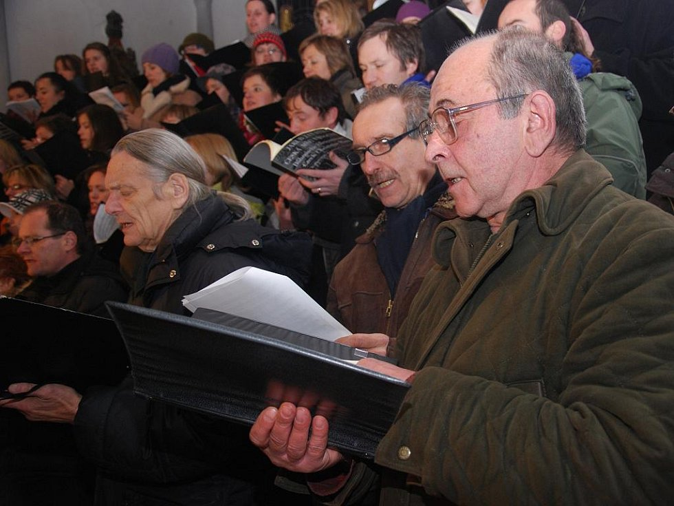 Českobrodský kostel svatého Gotharda hostil již tradiční adventní koncert