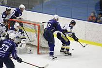 Z hokejového utkání Chance ligy Kolín - Šumperk (5:2)