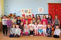 Děti v Mateřské škole v Býchorech.