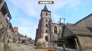 Klášter v Sázavě - pohled ze hry