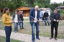 Z otevření nového letního areálu v Sendražicích.