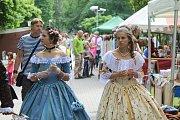 Kmochův ostrov ožil historickými slavnostmi.