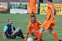 Z utkání Třebovle - Býchory (1:0).