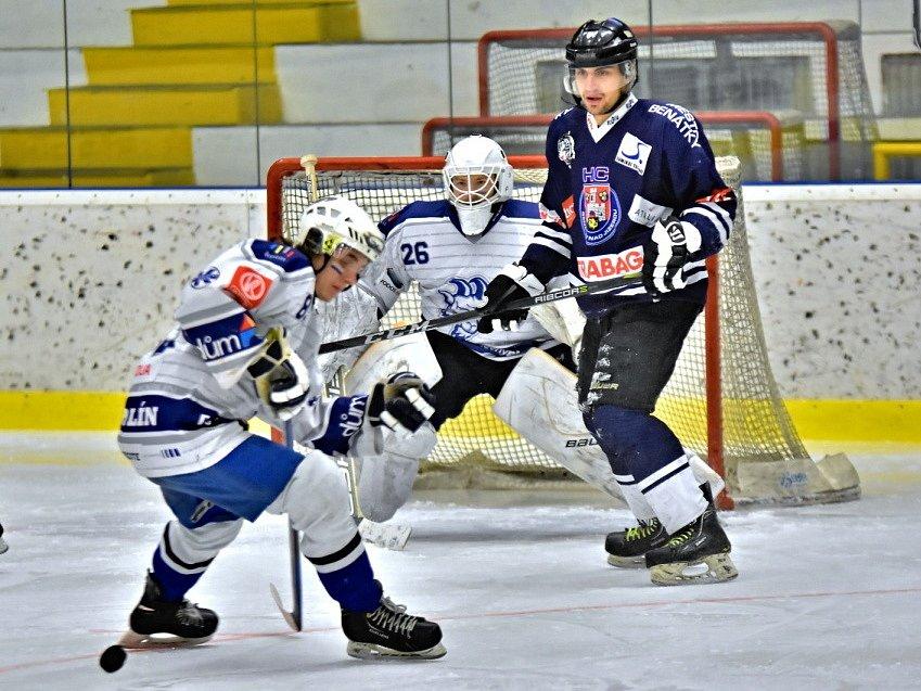 Z utkání semifinále play off Kolín B - Benátky B (2:0).