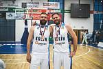 Z basketbalového utkání o třetí místo Kooperativa NBL Kolín - Brno (90:89)