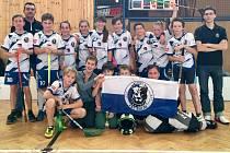 Mladší žáci Kolína opanovali turnaj, který pořádali.