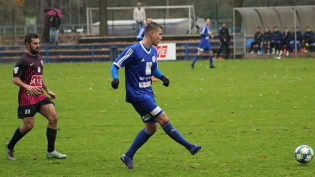 Z utkání FK Kolín - Čáslav (3:1).