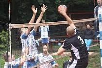 Z utkání VK Kolín B - Mladá Boleslav (0:3).